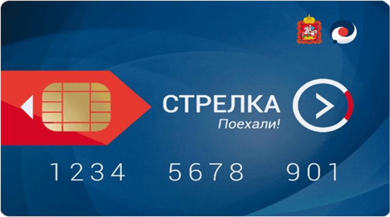 Пополнить Стрелку с банковской карты через интернет