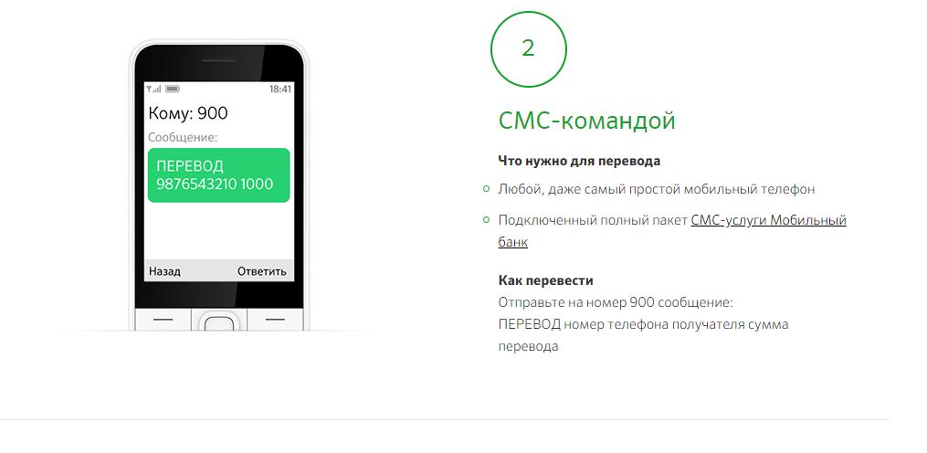 Мобильные перечисления по номеру дебетовой или кредитной карты