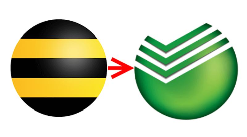 Как перевести деньги с Билайна на карту Сбербанка без комиссии