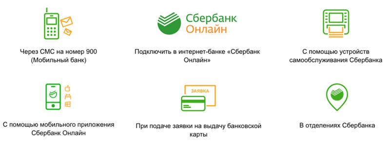 Подключение мобильного банкинга Сбера для перевода денег с карты на карту через телефон